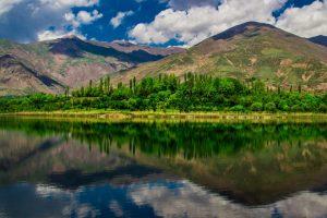 صور ايران -بحيرة اوان